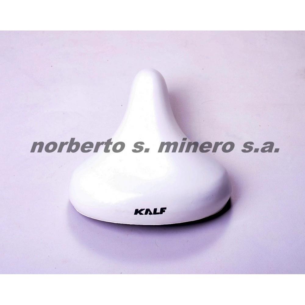 Asiento PLAYERO/PASEO 20/24 blanco KALF sin resorte 242x202mm